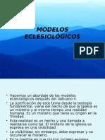 MODELOS ECLESIOLÓGICOS