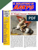 Il Bollettino Di Amys Nr. 21-2015