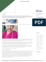 Sobre tecnologia de Regeneração Celular - Entrevista - Dra Hazel Wardha-out-2012