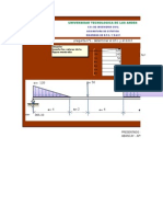 Diagrama de Fuerza Cortante y Diagrama de Momento Flector