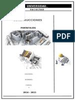 Portafolios de Construcciones
