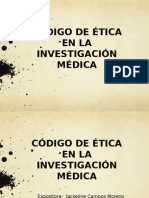 Etica en Investigacion Medica 2