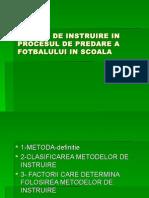Metode de Predare a Fotbaluli in Scoala c3