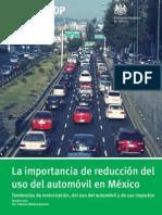 Importancia de Reduccion de Uso Del Auto