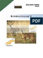BC 02 - Biomoleculas I