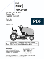 Craftsman Garden Tractor 917287451