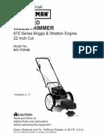 High Wheel Trimmer 917773740