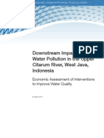 Downstream Impacts of Water Pollution West Java Indonesia
