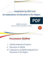 ASEC ASEAN Integration and Implication to Southeast Asia