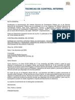 Normas de Control Interno de La Contraloria General Del Estado