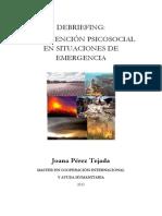 Intervencion Psicologica Emergencias