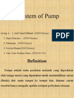 Utility System of Pump