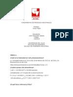 Fundamentos de Procesos Industriales