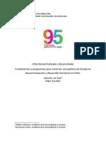 Chile Descentralizado y Desarrollado