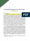 Gueroult - Méthode en Histoire de Philo