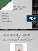 Constitución Política Colombiana de 1991