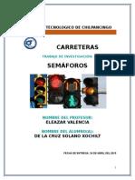 semáforos carreteras