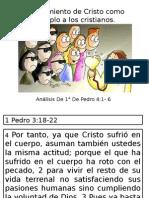 El Sufrimiento de Cristo Como Ejemplo a Los