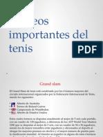 Torneos Importantes Del Tenis