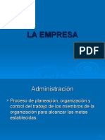 Clase 2 - La Empresa