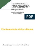 Proceso de Extracción Para La Elaboración de Jabón