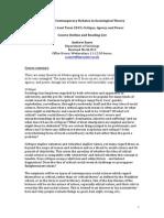 A. Sayer-Course Outline 2015-2