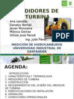 Medidores de Turbina