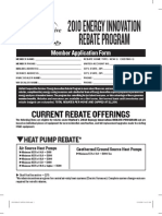 2010 Energy Innovation Rebate Program