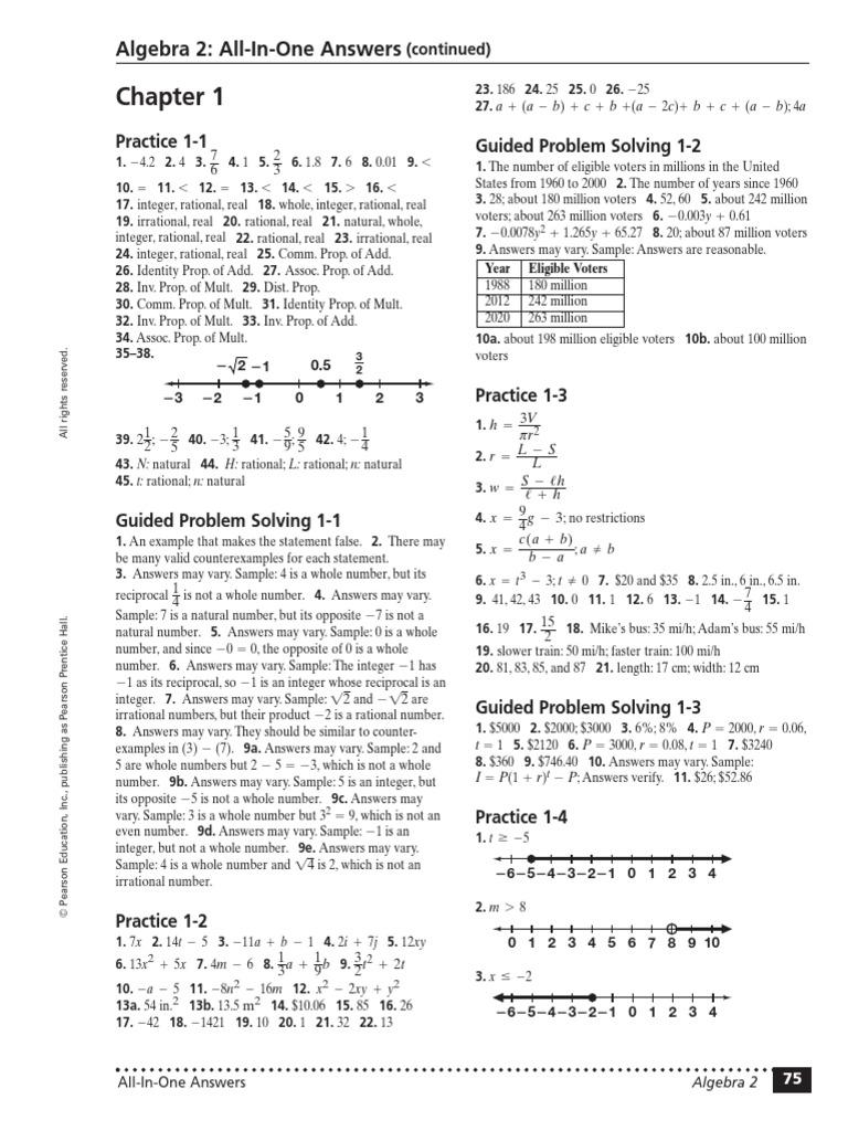 Algebra 2 work book answers matrix mathematics algebra fandeluxe Image collections