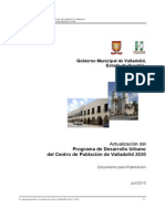 Programa de Desarrollo Urbano PDU
