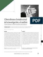Ciberculturas. Vizcarra-Ovalle. Cuadernos de Informacion 28. 2011.-Libre