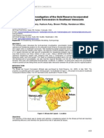 Hydrogeologic Investigation of the Gold Reserve Incorporated Brisas Del Cuyuni Concession in Southeast Venezuela