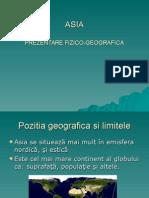 Asia Prezentare Fizico Geografica