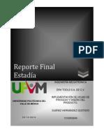Reporte Final Estadia