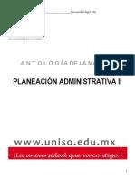 Planeación+Administrativa+II