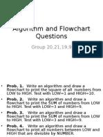 Algorithm Questions