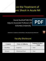Cardiogenic Shock in AMI