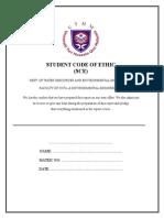 2. Student Code Ethic