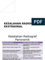Kesalahan Radiograf Ekstraoral