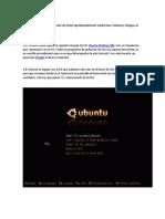 Instalacion ubuntu
