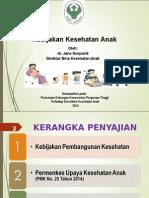Paparan Direktur Anak Konsorsium Surveilans 15 Okt 2014