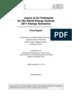 IIASA Emissions Impacts WEO2011