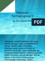 Maserasi