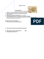 chapter cover worksheet