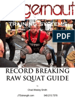 Juggernaut Raw Squat Training Guide