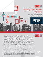 Good Mobility Index Report Q1 2015