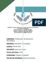 Educacion Tecnologica.