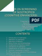 48317462 Seminar on Screening of Nootropics