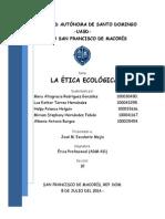 La Ética Ecológica