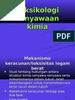 5.Mekanisme Keracunan Logam Berat